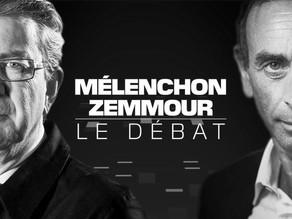 Chronique — Le débat Jean-Luc Mélenchon/Éric Zemmour : des chiffres et des réfs
