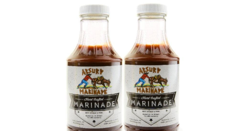 Absurd Beef Marinade (2x16oz bottles)