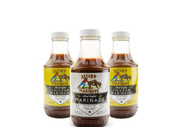 Absurd Marinade 3 Pack - Chicken Lovers