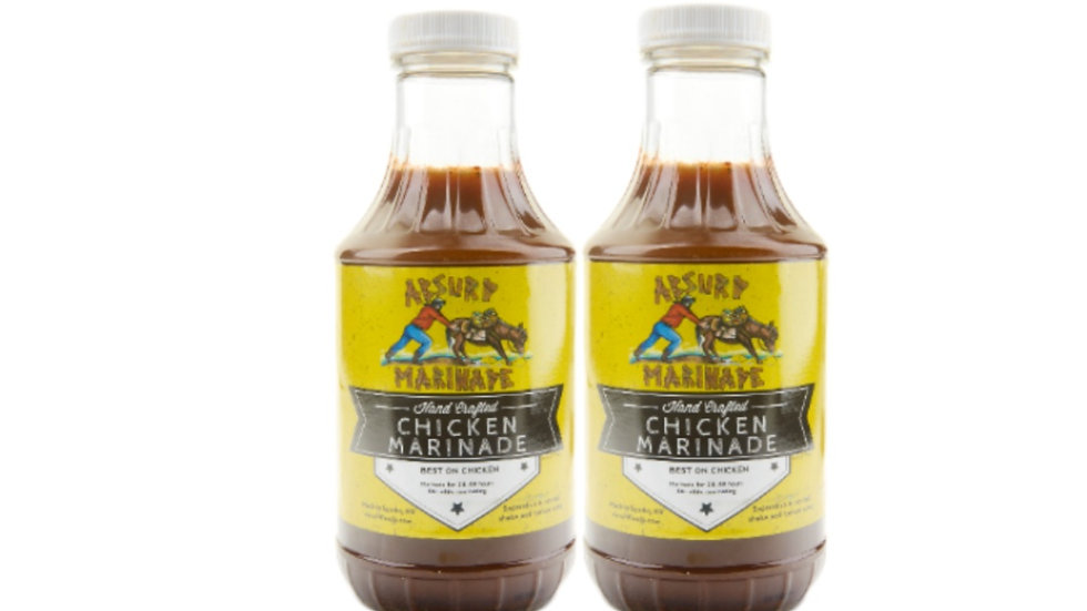 Absurd Chicken Marinade (2x16oz bottles)