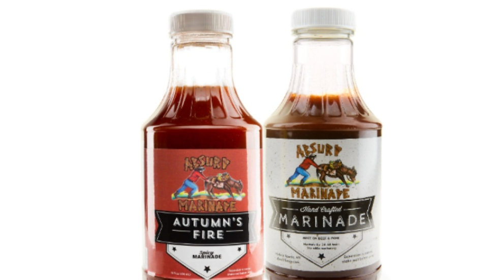Spicy & Beef Marinade combo pack (2x16 once)