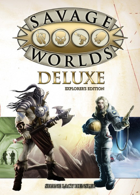 Savage Worlds Deluxe Edition -- Game Review