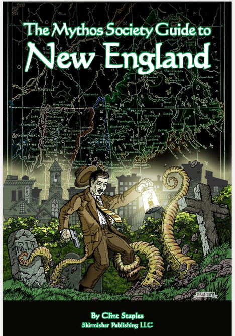 Mythos Society Guide to New England--A Great Supplement for Horror Role Playing