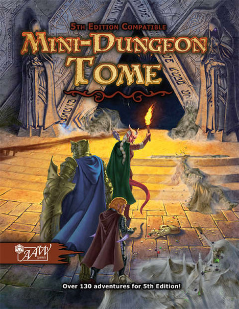 Mini Dungeon Tome--RPG Review