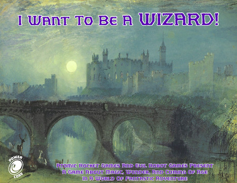 I Want to be a Wizard! is where Harry Potter and D&D meet