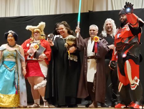 Gaming & Cosplay at Indiana Comic Con