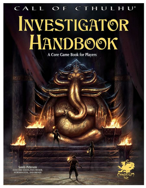 Call of Cthulhu Investigator Handbook -- RPG Review