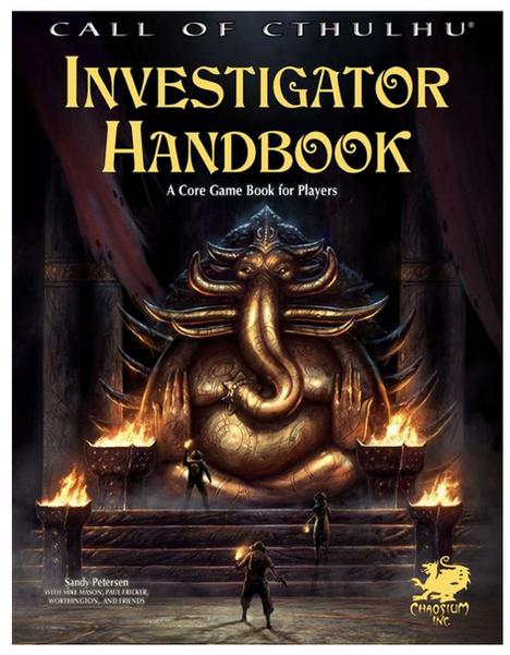 Call of Cthulhu Investigator Handbook-- RPG Review