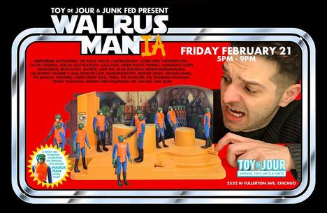 Walrus Mania!