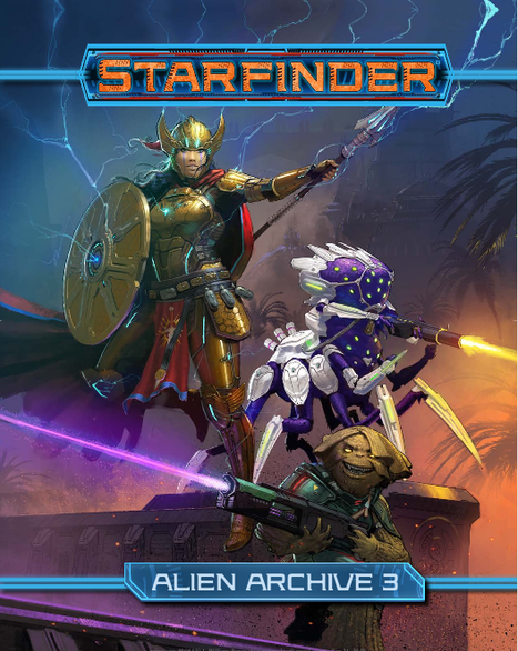 Alien Archive 3 is Another Great Sourcebook for Starfinder