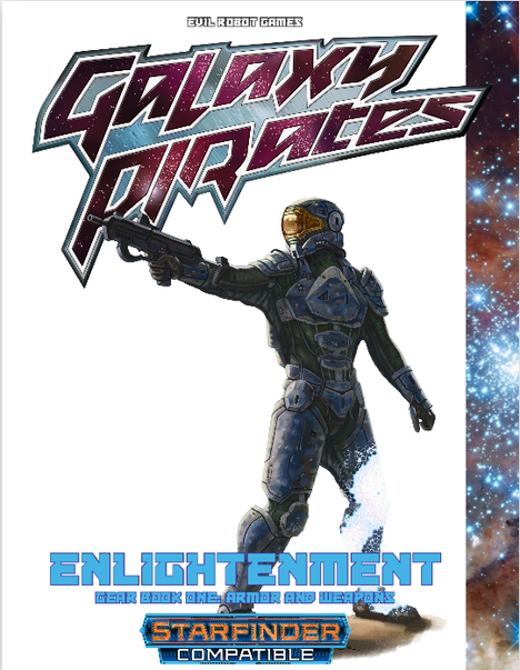Galaxy Pirates: Enlightment Gear Book 1 -- RPG Review