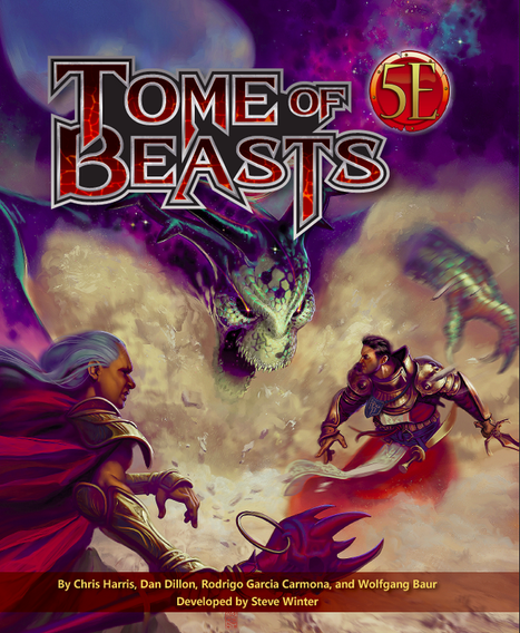 Tome of Beasts: a Book that Every Dungeon Master Needs