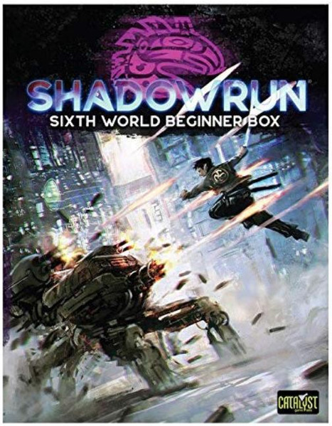 Shadowrun 6th World Beginner Box Reviewed--A Great Start for a New Edition