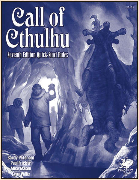 Call of Cthulhu 7th Edition Quick Start Rules - Game Review