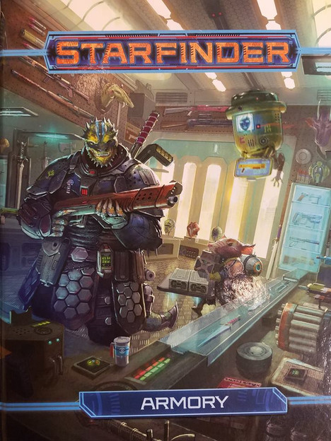 Starfinder Armory--RPG Review