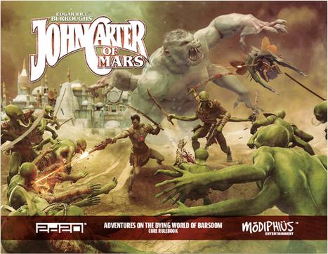Modiphius Adapts Jon Carter of Mars into an Amazing RPG