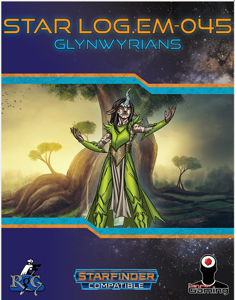 Star Log.Em-045: Glynwyrians -- RPG Review