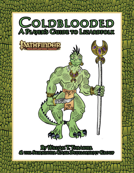 Coldblooded-A Player's Guide to Lizardfolk: Tabletop RPG Review