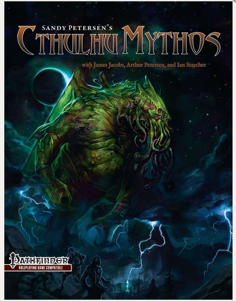 Sandy Petersen's Cthulhu Mythos for Pathfinder--RPG Review