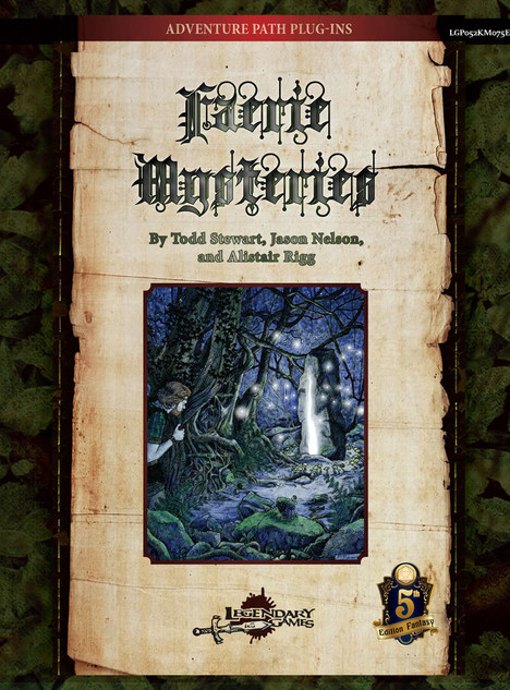 Faerie Mysteries for D&D 5th Edition -- Game Review