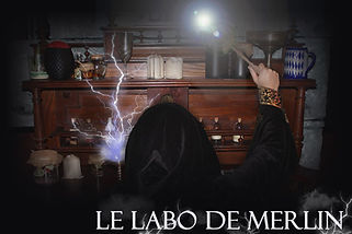 Laboraore de Merlin Escape Game