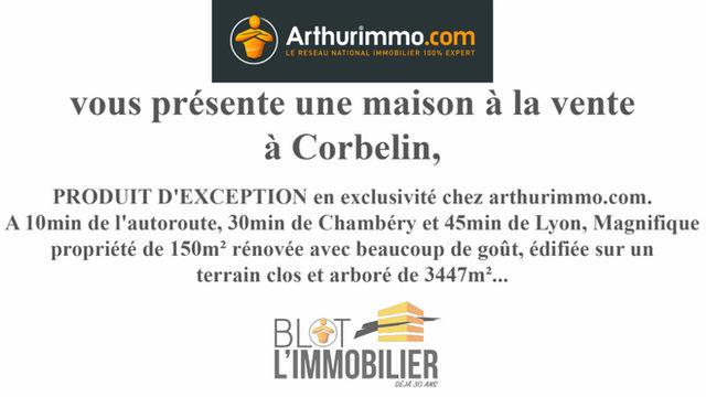 Diaporama vidéo pour l'agence ARTHURIMMO.COM /Blot l'immobilier de Bourgoin-Jallieu.