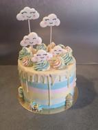 Cake design - Nuages