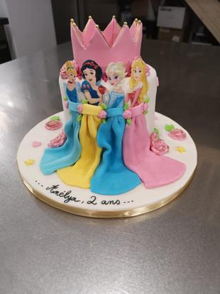 Cake design - Princesses