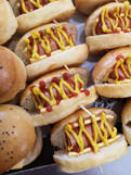 Petits fours - Mini Hot dog