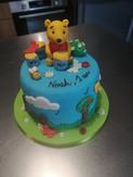 Cake design - Winnie l'Ourson