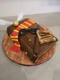 Cake design - Livre Harry Potter