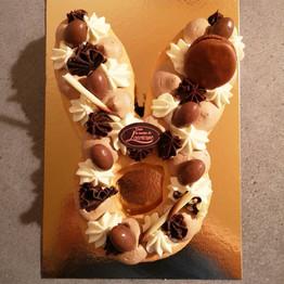 Number cake lapin
