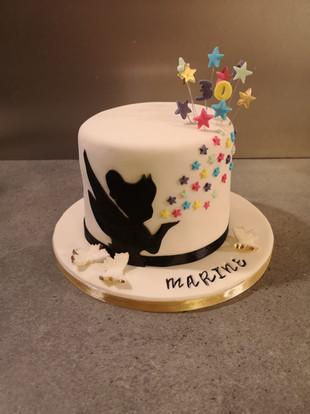 Cake design - Fée clochette