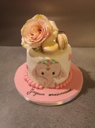 Cake design - Elephants