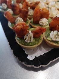 Petits fours salés - Tartelettes guacamol