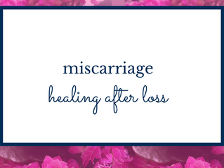 Miscarriage Q&A: Healing after loss