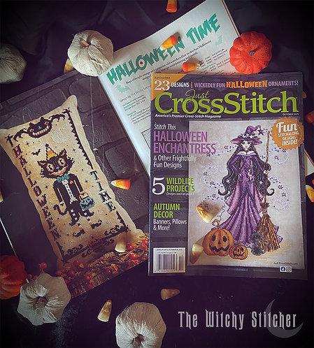 Just Cross Stitch Magazine - October Issue