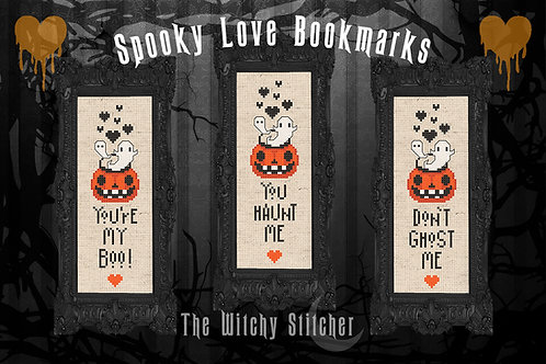 Valloween Bookmark ~ PDF Pattern