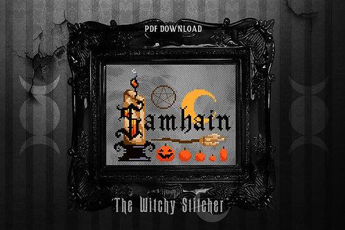 Samhain Sabbat ~ PDF Pattern