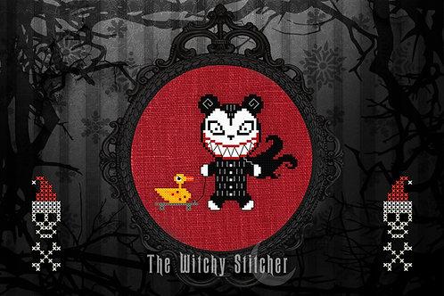 Nightmare Teddy & Duck ~ PDF Pattern