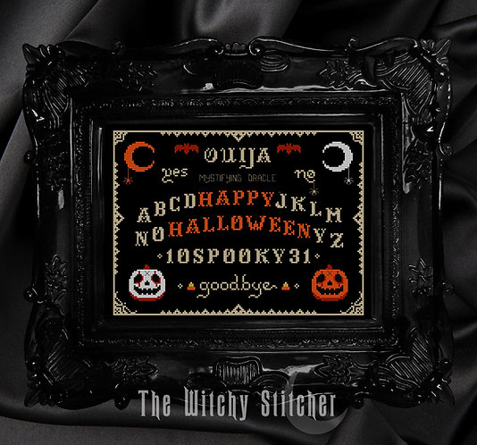 Ouija ~ Happy Halloween ~ PDF Pattern