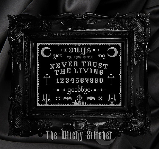 Ouija ~ Never Trust The Living ~ PDF Pattern