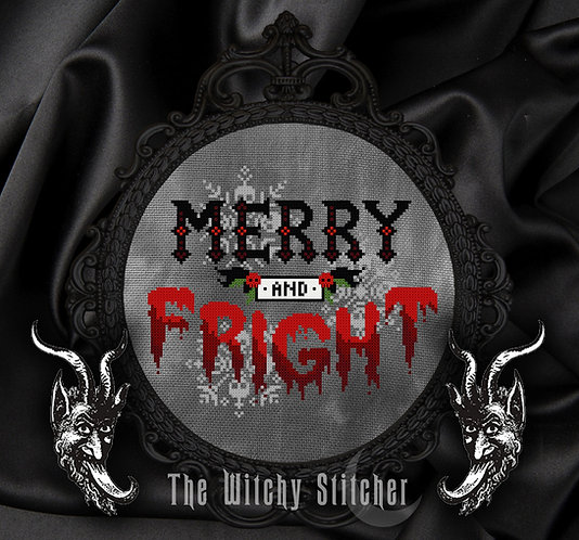 Merry and Fright ~ PDF Pattern