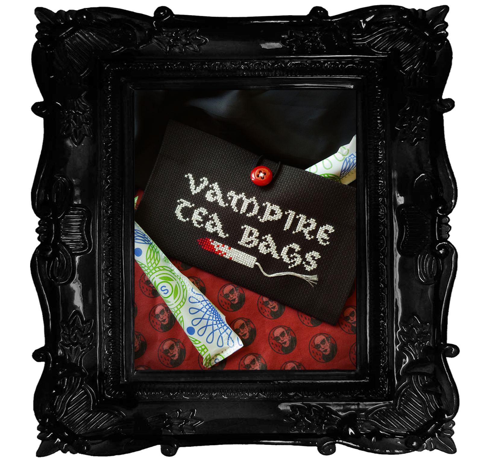 Vampire Tea Bag - Tampon Pouch