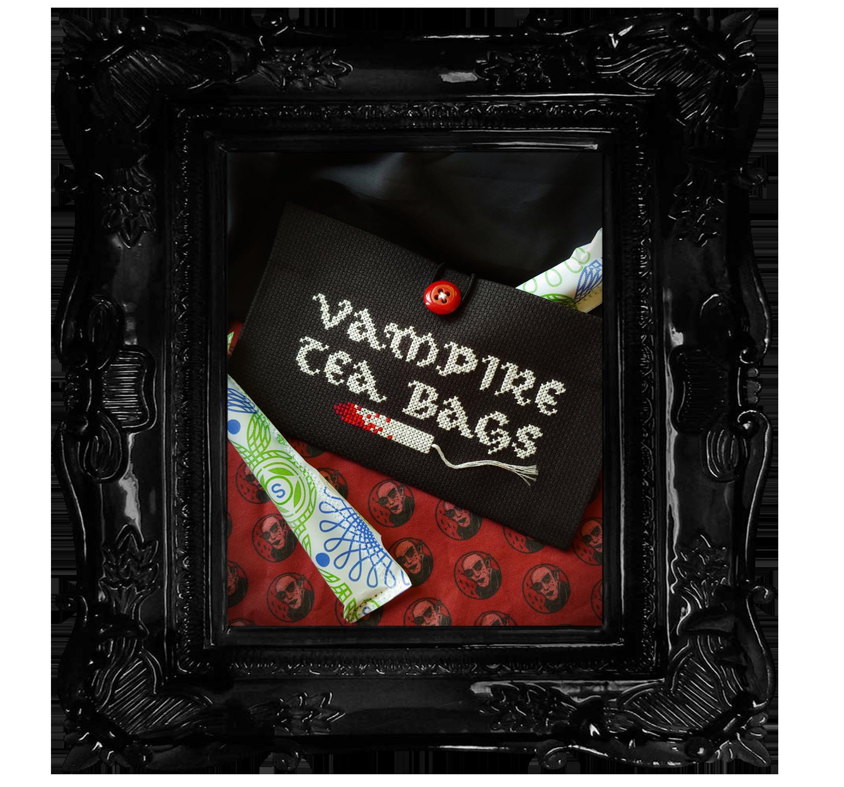 Vampire Tea Bag - Tampon Pouch