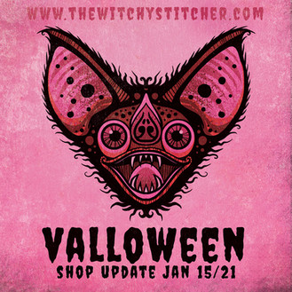 Valloween Announcement - The Witchy Stit