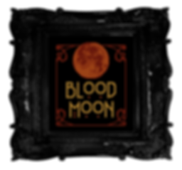 Blood Moon - free gothic, witchy, modern, halloween free cross stitch pattern