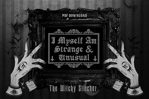 Strange & Unusual ~ PDF Pattern