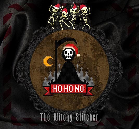 Ho Ho NO ~ Grim Reaper ~ PDF Pattern