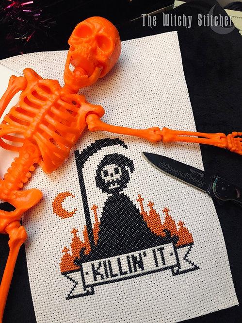 Killin' It ~ Grim Reaper ~ PDF Pattern